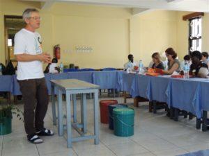 Fondatore di ANAMED, Dr Hans Martin - lezione di medicina naturale